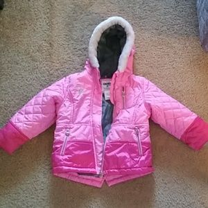 Osh kosh bgosh girls puffer jacket size 4T